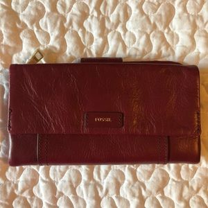 FOSSIL WALLET NWT